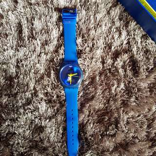 Swatch watch jam tangan original