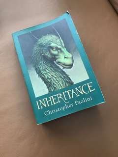 Inheritance (Eragon) by Christopher Paolini