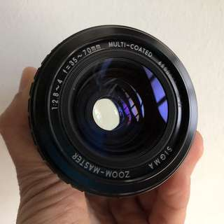 Sigma 35-70mm 2.8-4 FD mount zoom master
