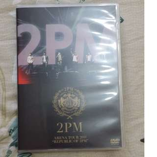 "2PM - ARENA TOUR 2011 ""REPUBLIC OF 2PM"" DVD"