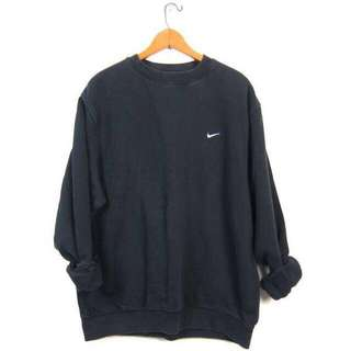 Vintage Nike Oversized Black Sweatshirt