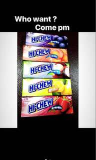 Taiwan imported Hi-Chew Candy