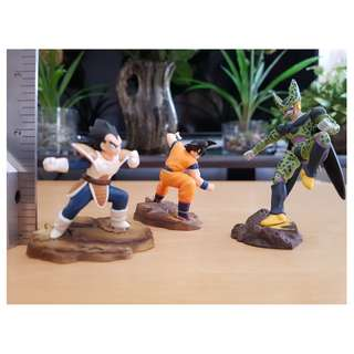 Goku Vegeta cell dragon Ball Z 3pcs