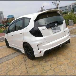 2011年 FIT 白色頂級     大桃園優質二手中古車買賣