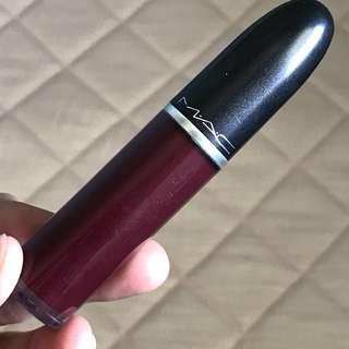 Mac liquid lipstick - High Drama