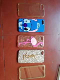 Iphone 6 Jelly and Hard Cases 5 in 1