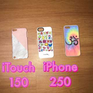 iTouch and iPhone Cases