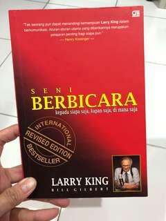 Buku Seni Berbicara Karya Larry King (Bahasa Indonesia)
