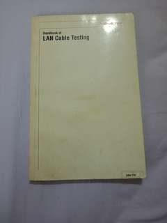 Handbook of Lan cable testing