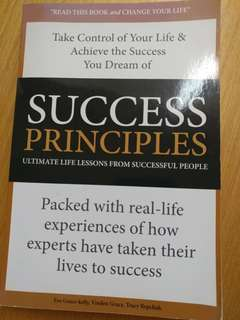 Success principles - Ultimate life lessons from successful people