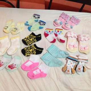 Take all 11pcs baby socks