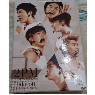 "2PM 1st Japan Tour 2011 ""take Off"" In Makuhari Messe [Limited Edition] DVD"
