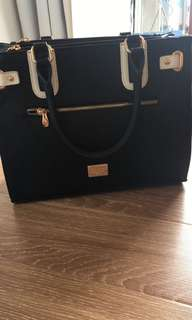 Colette black and white bag