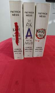 Patrick Ness Chaos Walking series