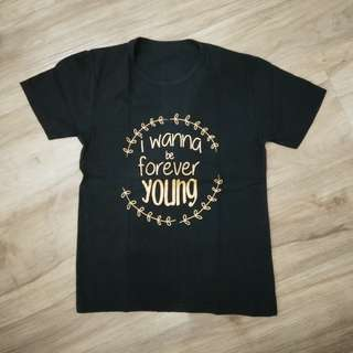 Kaos quotes i wanna be forever young
