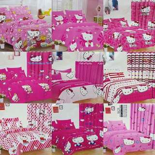 Hello kitty 6 in 1 bed sheet