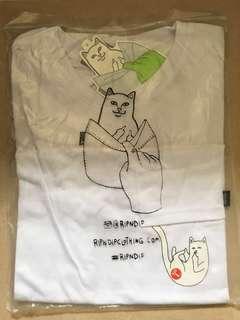 Ripndip 中指貓 tee t-shirt