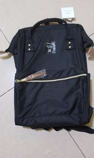 Black Anello backpack Authentic