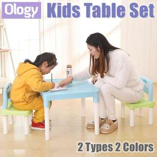 Kids Study Learning Alphabets Teaching Education Table Desk Chair Set Child Student Furniture