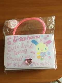 Usahana letter envelope Sanrio 100%new