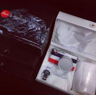 """Brand New in box Leica X """"Edition Moncler"""""""