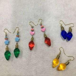 🚚 復古燈泡造型手作耳環 #女裝半價