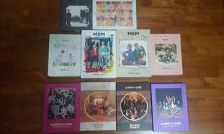 Album clearance + wtt wanna one mxm jbj the boyz