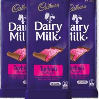 Cadbury Choc Bar