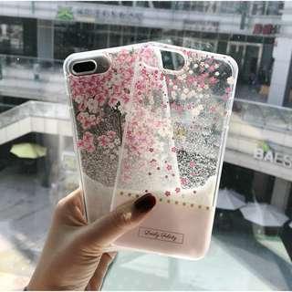 OW68  Sakura Snowflake iphone 7 iphone 8 casing