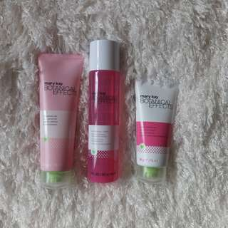 Mary Kay Botanical Effects set