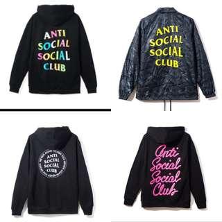 Assc Jackets & Hoodies