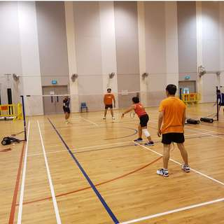Sunday 3-5 PM Badminton at Bedok South Ave 3