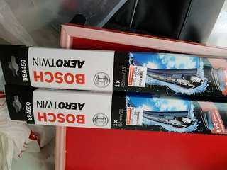 Boseh wiper blades (18 and 26)