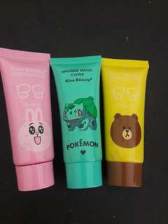 New BB Cream Brand Kiss Beauty Ori (Harga Satuan) Travel size