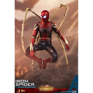 PO: Hot Toys MMS482 Avengers: Infinity War - Iron Spider