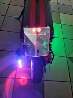 Custom Made E Scooter Acrylic Mudguard