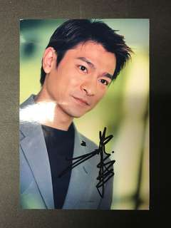 劉德華親筆簽名照 / Andy Lau signed autograph