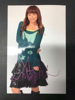 鄧麗欣親筆簽名照 / Stephy Tang signed autograph