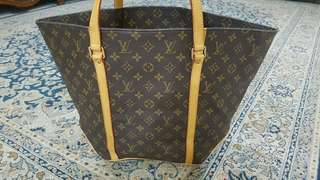Authentic LV Vintage Sac Shopping Shoulder Tote