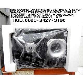 "J.B.L Subwofer AKTIF 12"" OriGiNaL & Fresh Power Mantap KATAPANG SOREANG"