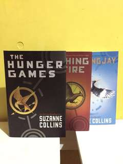 Hunger games trilogy (HB)