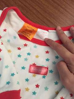 Baby patch sleepsuit