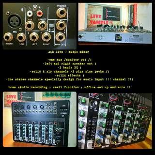 [Mixer] AiR live7 audio mixer /console
