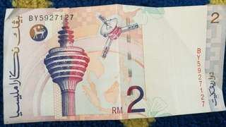 Rm2 old ringgit malaysia note