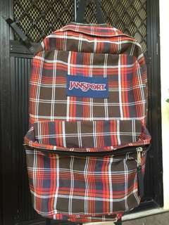 Authentic/ Original Jansport Red Checkered