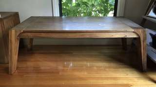 Wooden Coffee Table -originally from Super Amart