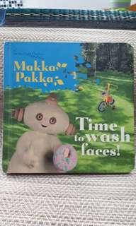 Baby book: Makka Pakka Time to Wash Faces