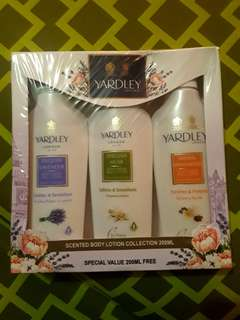 AUTHENTIC Yardley London Scented Body Lotion Collection---from Dubai