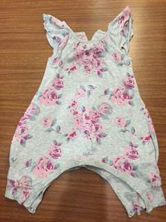 Baby berry rompers