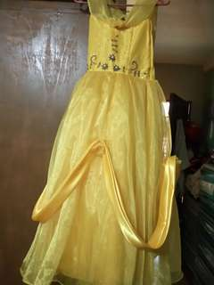 Belle balloon gown